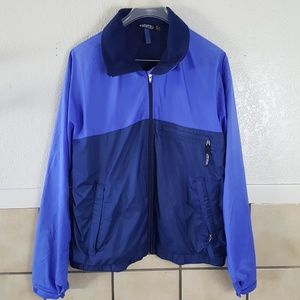 Patagonia Vintage two toned blue zip up jacket